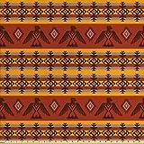 Ambesonne Tribal Stoff von The Yard, Indigene Tribal Stil