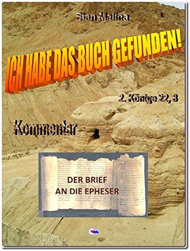 """DER BRIEF AN DIE EPHESER: aus: """"Ich habe das Buch gefunden"""" (BS-D 49)"""
