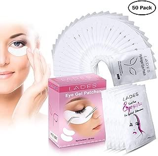Eye Gel Pads - 50 Pairs of Eyelash Lash Extension Under Eye Gel Pads Eye Patches