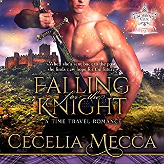 Falling for the Knight: A Time Travel Romance     Enchanted Falls Trilogy, Book 2              Written by:                                                                                                                                 Cecelia Mecca                               Narrated by:                                                                                                                                 Paul Woodson                      Length: 5 hrs and 5 mins     Not rated yet     Overall 0.0