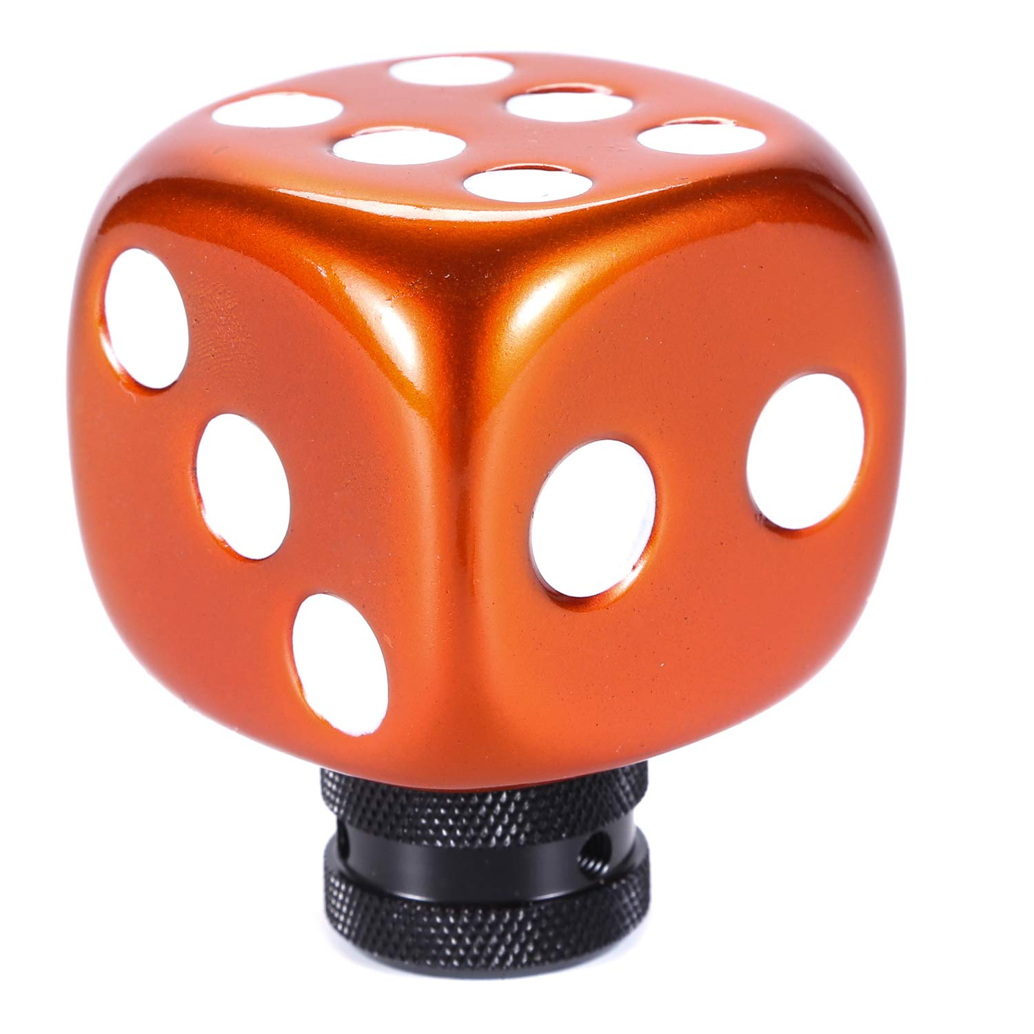 Multicolor+Red Aluminum Alloy Car Stick Shift Head for Most Manual Automatic Cars Bashineng Spring Gear Shifter Knob