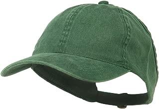 Ladies Washed Cotton Ponytail Cap