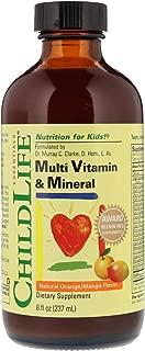 Childlife Essentials Multi Vitamin and Mineral Natural Orange/Mango Flavor, 8 ounce