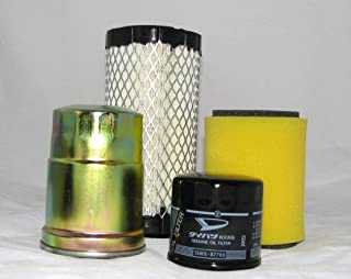 Kawasaki DIESEL 2510, 3010, 4000, 4010 Mule Complete Filter Kit (Oil, Air & Fuel)