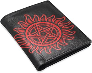 Large Capacity Classic Men's Leather Wallet with Special Design