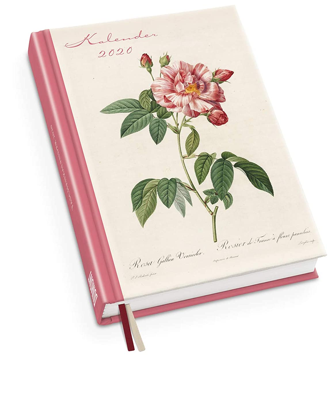 不規則なの頭の上端Redoutés Rosen Taschenkalender 2020 - Terminplaner mit Wochenkalendarium - Format 11,3 x 16,3 cm