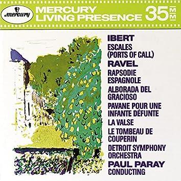 Ibert: Escales / Ravel: Rapsodie Espagnole; La valse; Le Tombeau de Couperin etc.