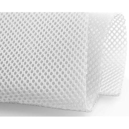 1 METRO Tejido transpirable rejilla 3D Blanco Ancho 220cm ...