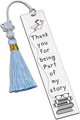 Gifts for Teacher Gifts Bookmark for Women Men Teacher Appreciation Gifts Thank You Graduation Valentines Day Birthday Christmas Retirement Gifts Spanish PE Preschool Daycare Special Education Teacher