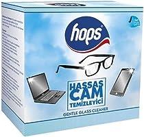 Hops Hassas Cam ve Gözlük Temizle Mendili 40'li