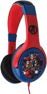 Marvel Avengers Stereo Wired Headphones Headset Adjustable Earphone by Volcano