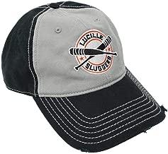 The Walking Dead Negan Lucille Bat Slugger Cap Hat Logo Weathered AMC Adjustable