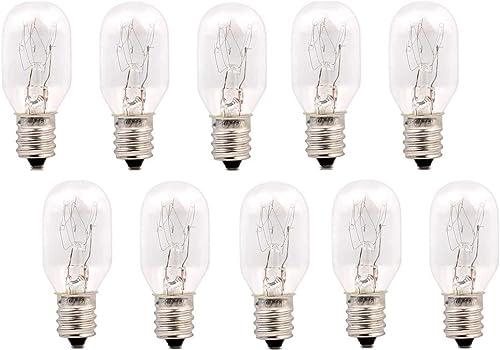 12x Premium Quality Dimmable Salt Lamp Globe Bulb. AU Standard E14 Socket 15w 230V SAA Compliant (10 x Globes)