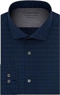 Men's Dress Shirts Xtreme Slim Fit Check Thermal Stretch