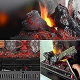 GLOW FIRE Beethoven Elektrokamin Opti Myst 3D Wasserdampf Feuer Opti-myst Cassette 400, elektrischer Raumteiler Standkamin mit Fernbedienung | Regelbarer Flammeneffekt, 60 cm, Weiß - 9