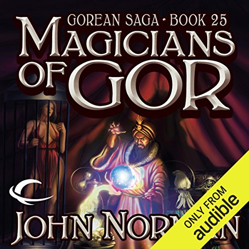 Magicians of Gor cover art