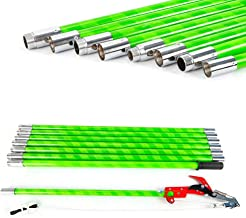 VPABES 26 Foot Length Tree Pole Pruner Tree Saw Garden Tools Loppers Hand Pole Saws