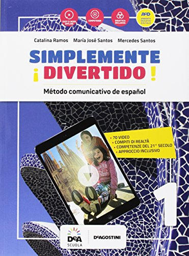¡Simplemente divertido! Libro del alumno y cuaderno. Per la Scuola media. Con e-book. Con espansione online. Con file audio formato MP3. Con Libro: En mapas. Con DVD-ROM [Lingua spagnola]: Vol. 1