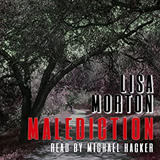 Malediction audiobook cover art