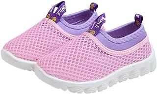 DEBAIJIA Scarpe per Bambini 1-4T Baby Walking Sneaker Mesh Traspirante TPR Materiale Leggero Suola Morbida Antiscivolo Rag...