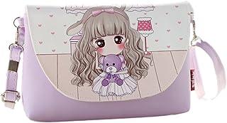 5d4f8c42774c5 KKBAG Sac a Main Enfant Ados Petite Fille Violet Lavande Style Manga Poupée