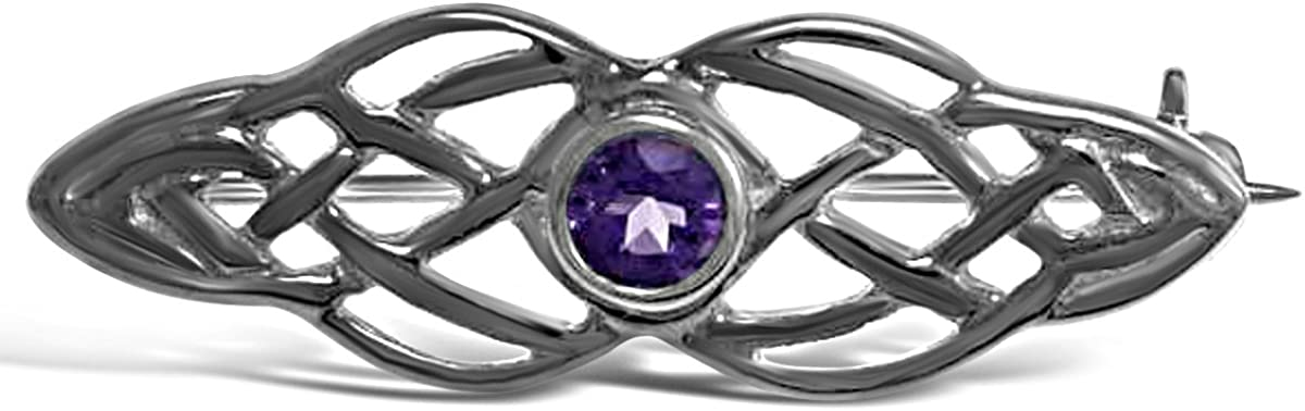 Sterling Silver Celtic Brooch Pin Scottish Irish - Challenge the lowest price of Japan Spring new work