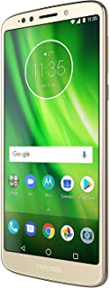 "Motorola Moto G6 Play (32GB) XT1922-5 5.7"" Dual SIM 4G LTE Factory Unlocked Smartphone International Version - No Warranty (Gold)"