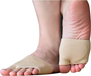 Metatarsal Sleeve Pads, Half Toe Bunion Sleeve with Sole Forefoot Gel Pads Cushion for Diabetic Feet Metatarsalgia Mortons Neuroma Prevent Calluses Blisters for Women & Men