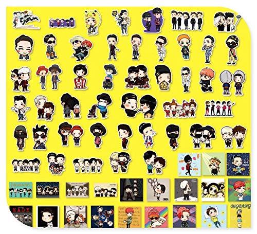 South Korea'S Quan Zhilong Boys Group Luggage Stickers Computer Guitar Skateboard Phone Case Stickers 67