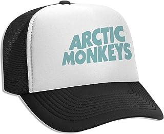 09d77ad7c Trucker Hat Artic Monkeys Mesh Baseball Caps with Adjustable Strap for Men  Women