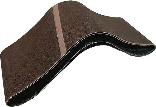popular Makita 742322-9 online 4-Inch outlet sale x 24-Inch Abrasive Sanding Belt, 80 Grit (10/Pk) online