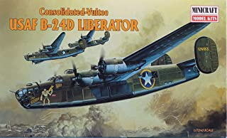 Minicraft 1:72 Consolidated Vultee USAF B-24 D Liberator Model Kit #11612