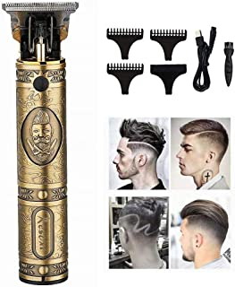 Elikliv Professional Hair Trimmer Rechargeable Electric Hair Clipper Mens Haircut Adjustable Cordless Electric shaver hair...
