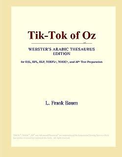 Tik-Tok of Oz (Webster's Arabic Thesaurus Edition)