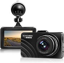 ضبط دوربین داشبورد دوربین 1080P Full HD داشبورد اتومبیل با دید فوق العاده در شب ، صفحه نمایش LCD 3 اینچی DVR Dashcam ، مانیتور پارکینگ ، سنسور G ، WDR ، تشخیص حرکت