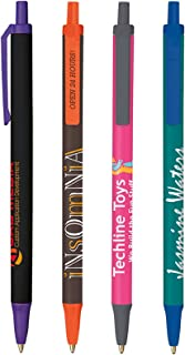 300 Personalized BIC Clic Stic Pens Printed with Your Logo or Message on Barrel and Clip