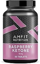 Amazon Brand – Amfit Nutrition Raspberry Ketone 10mg – 90 Tablets Estimated Price : £ 12,57