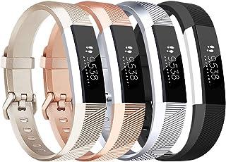 Fitbit alta HR Correa Tobfit Ajustable Suave Deporte Correas de Repuesto Para Fitbit Alta HR y Fitbit Alta