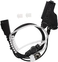 TENQ Covert Acoustic Tube Earpiece Headset with PTT Mic for Multi-pin Motorola Radio GP900 MTX900 MTX960 XTS1500 XTS2500