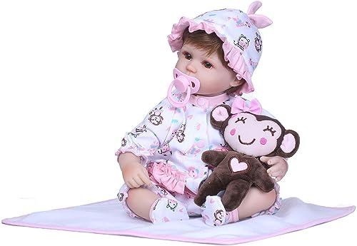 el mejor servicio post-venta FairytaleMM 15  muñeca bebé bebé bebé Realista Lifelike bebé Reborn recién Nacido Hechas a Mano con Suave del Silicón Niños  a la venta