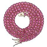 Jewelrysays Hip Hop Jewelry - Collar de cobre chapado en oro