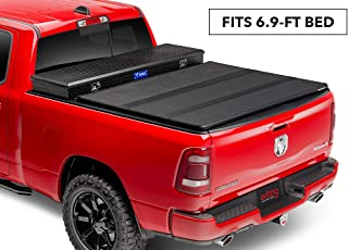 Extang Solid Fold 2.0 Toolbox Hard Folding Toolbox Truck Bed Cover | 84653 | fits Chevy/GMC Silverado/Sierra (6 ft 9 in) 2020 2500HD/3500HD