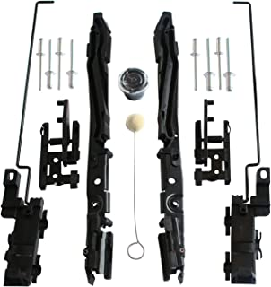 LIYA Sunroof Track Assembly Repair Kit Fits Ford F150 2000-2014 / F250 F350 F450 2005-2016 / for Lincoln Mark LT 20006-2008 / for Navigator 2000-2016