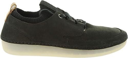 Clarks Chaussures pour Femme 26129161 Nature IV noir Nubuck Taille 36