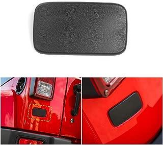 Voodonala Rear License Plate Deletion Cover Panel for 2007-2019 Jeep JK JKU