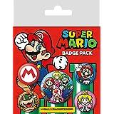 スーパー マリオ ボタン バッジ セット / Super Mario Button Badge Set
