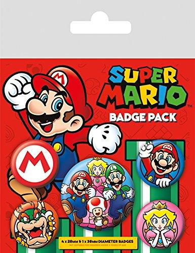 Nintendo Abzeichen, plastik, Mehrfarbig, 10 x 12.5 cm