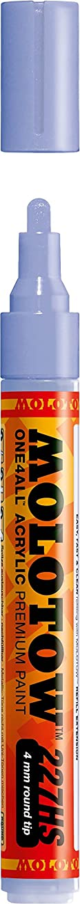Molotow ONE4ALL Acrylic Paint Marker, 4mm, Blue Violet Pastel, 1 Each (227.228)