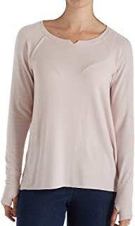 Women's Madison Brushed Jersey Hi Low W/Thumbholes