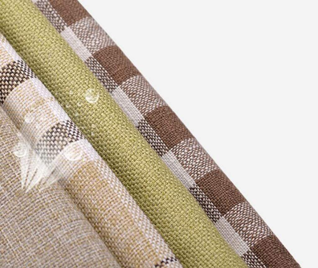 GWM Tabouret/Petit siège/Tabouret en Bois Massif de Tissu (Color : Wood Color - Style) Walnut Color - Style